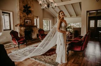 ¿Cómo elegir el velo según el peinado de novia? 5 consejos