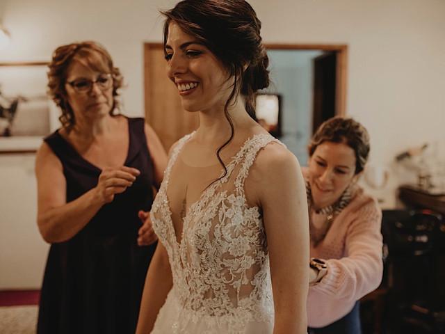 ¿Cómo ponerte el vestido de novia? 7 tips para estar cómoda