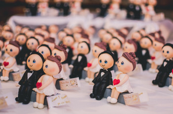 Souvenirs de casamiento en porcelana fría: 5 ideas originales
