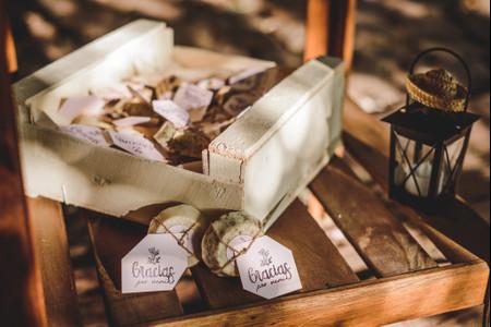 6 ideas para envolver ustedes mismos los souvenirs de casamiento