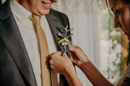 7 tips para elegir el estampado de la corbata o el moño del novio