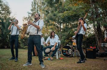 Banda de jazz en vivo para el casamiento: pónganle swing a su fiesta