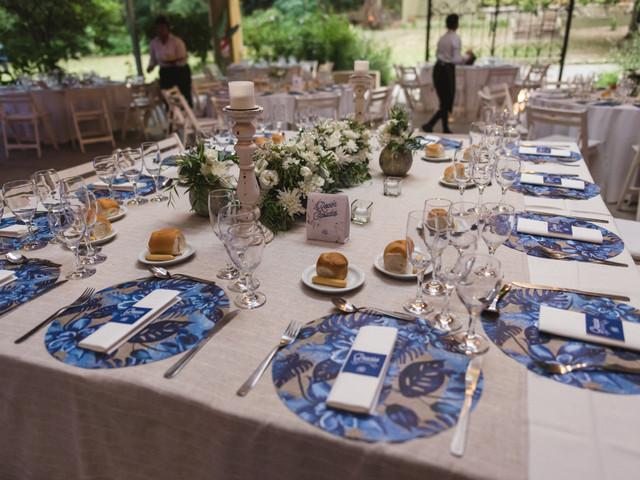 6 formas de incluir el azul en la decoración del casamiento