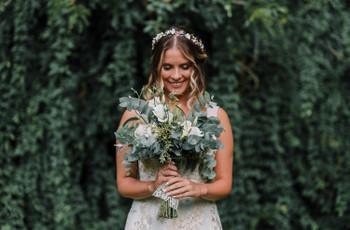 6 cosas que debés saber si querés usar un ramo de novia grande en tu casamiento