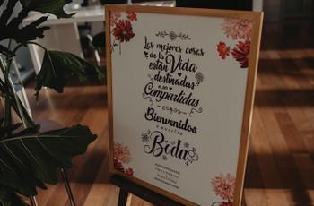 30 frases para decorar rincones del casamiento