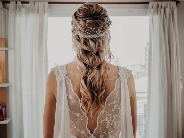 ¿Cómo elegir el tocado de novia? 6 claves para no fallar