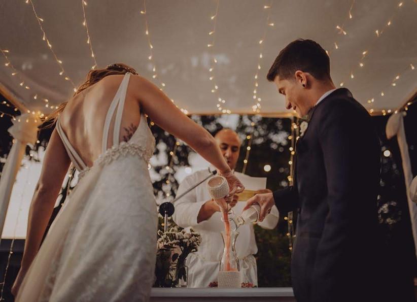 ceremonia aire libre casamiento