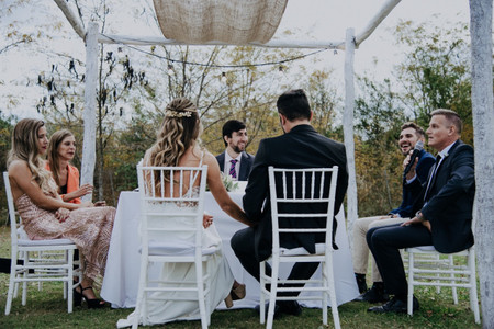 ¿A qué hora convocar a los invitados a la ceremonia?