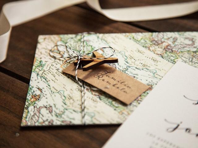 La papelería para el casamiento: 10 elementos básicos