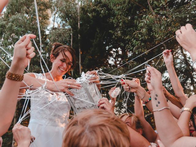 La ceremonia de las cintas: significado y opciones de la tradición