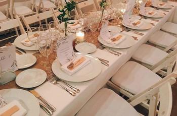 Juego para que los invitados socialicen: pequeñas biografías en las mesas