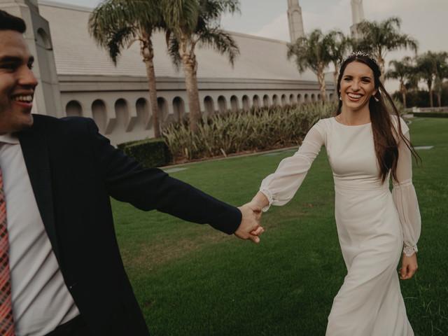 8 trucos para salir bien en las fotos del casamiento