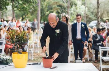 Ceremonia de la plantación para el casamiento: un ritual especial para bodas simbólicas