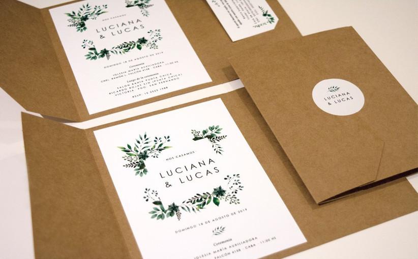 Tarjeta de casamiento flores vintage
