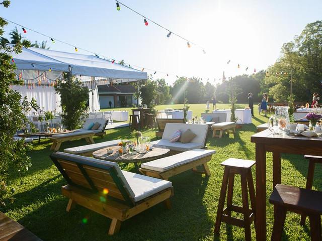 6 tips para decorar casamientos informales sin mesas