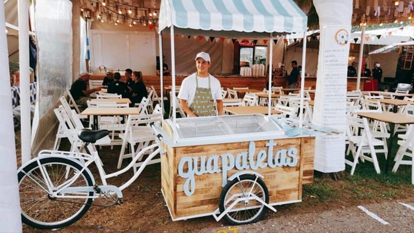 Guapaletas Palermo - Carrito de helados