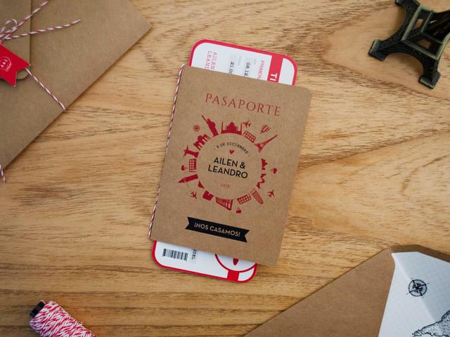 Tarjetas de casamiento originales: 7 ideas para sorprender a sus invitados