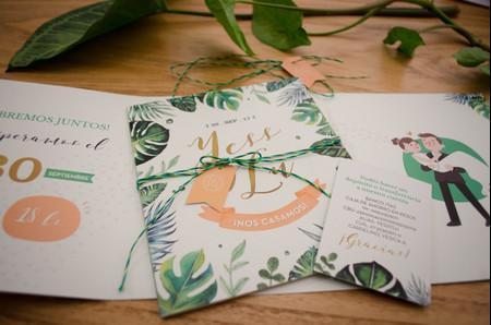 Tarjetas de casamiento divertidas: 7 tips para darles un toque de humor