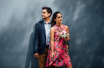 ¿Cómo elegir tu vestido de novia de civil si te casás en primavera?
