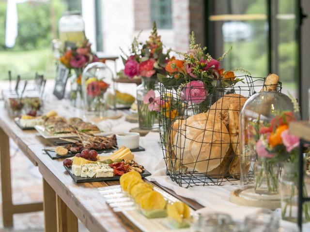 7 propuestas de menús para casamientos al aire libre