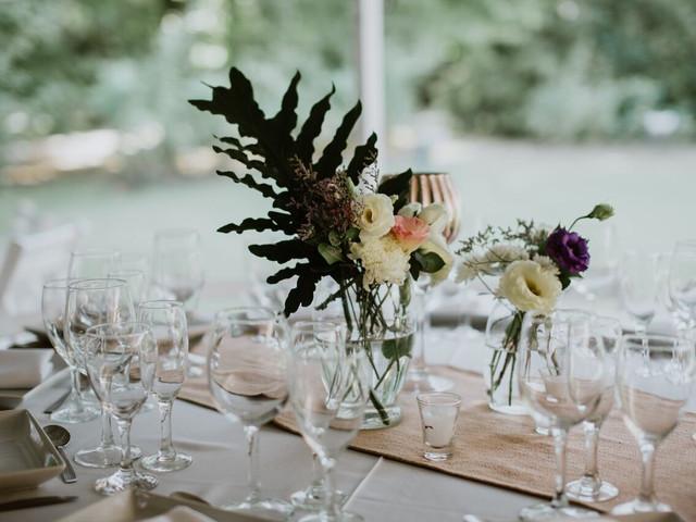 Centros de mesa para casamientos: 30 ideas originales