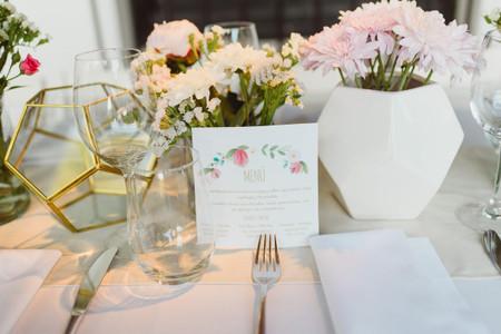 Centros de mesa geométricos: última tendencia para casamientos