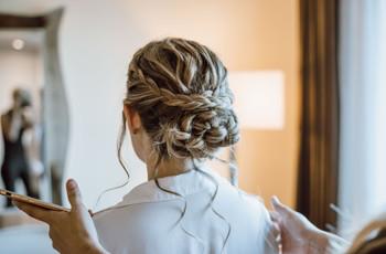 Peinados recogidos fáciles: 40 opciones para todos los estilos de novia