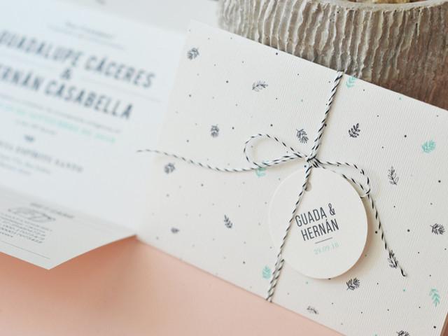 8 tips para la presentación de los sobres de las tarjetas de casamiento