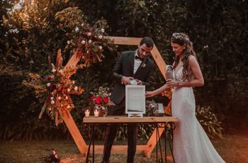 ¿Qué es la ceremonia de la arena y cómo llevarla a cabo en su casamiento?