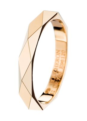 FACETTE YELLOW GOLD WEDDING BAND, Boucheron