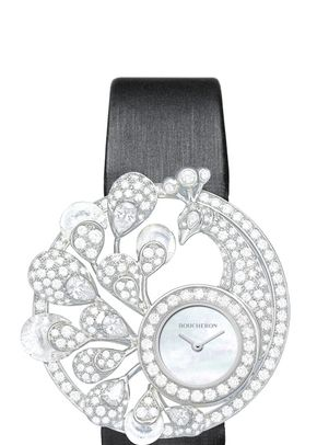 AJOURÉE HÉRA JEWELRY WATCH, Boucheron