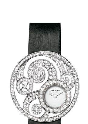 AJOURÉE VOLUTE JEWELRY WATCH, Boucheron