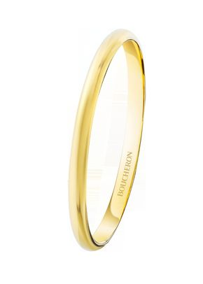 EPURE YELLOW GOLD MINI WEDDING BAND, Boucheron