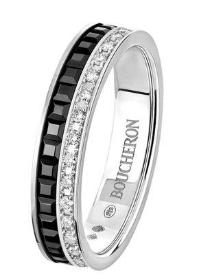 QUATRE BLACK EDITION WEDDING BAND, Boucheron