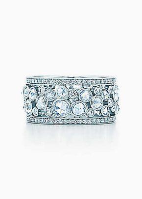 cobblestone band ring, Tiffany & Co.