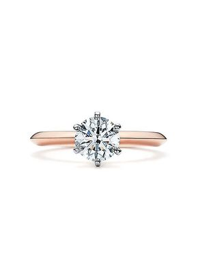 THE TIFFANY SETTING ROSE GOLD, Tiffany & Co.