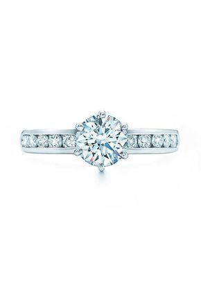 THE TIFFANY SETTING  WITH DIAMOND BAND, Tiffany & Co.