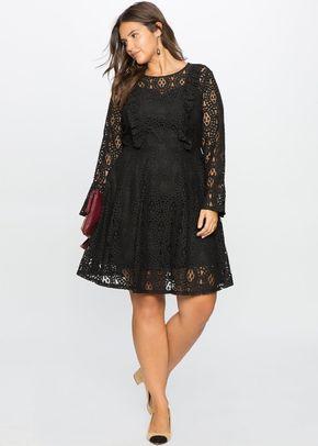 Plus Size 1243219 negro, Eloquii