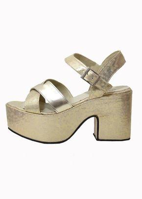 TEXAS 02 PLATINO, Epica zapatos