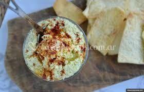 Galletas con humus
