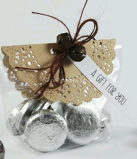 Chocolates dulce como su amor