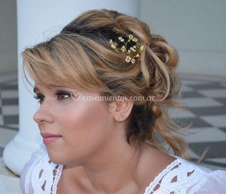 Peinado Glam