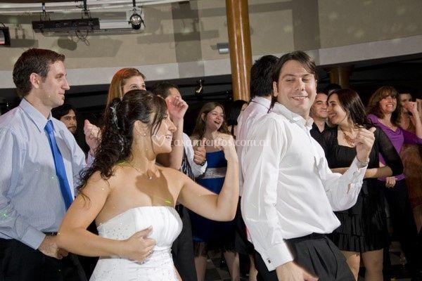 Bailando en el casamiento