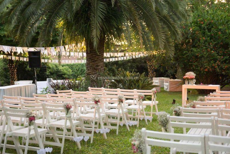 Ceremonias en el parque