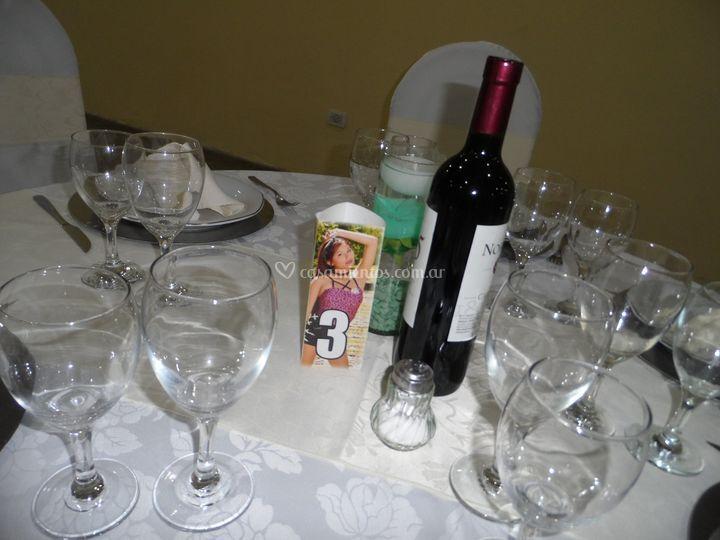 Presentación de mesa