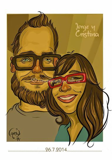 Caricaturas de parejas