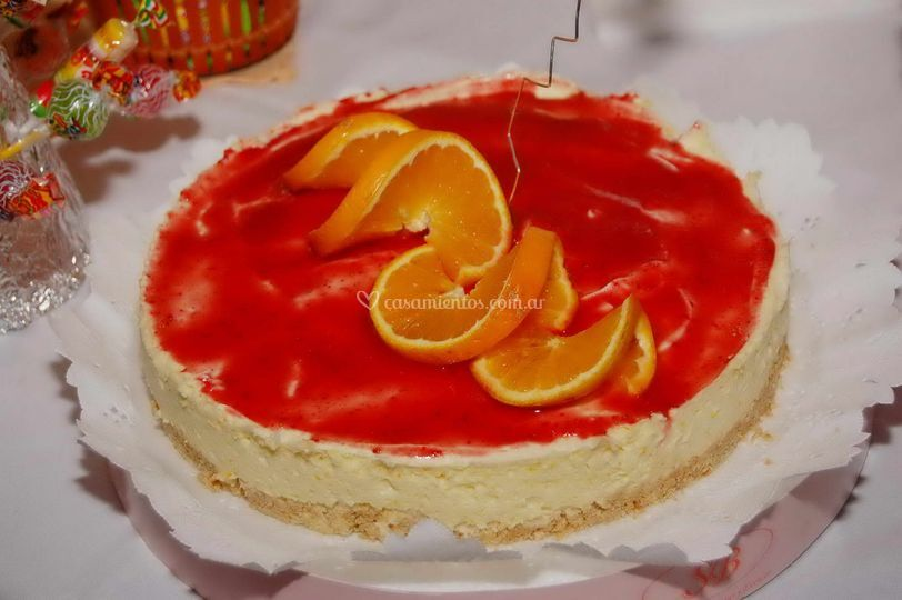 Lemon pie con naranja