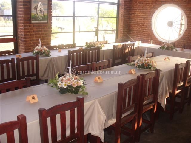 Presentación mesas
