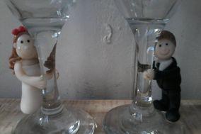 MKS Recuerdos en Porcelana Fría para Tortas