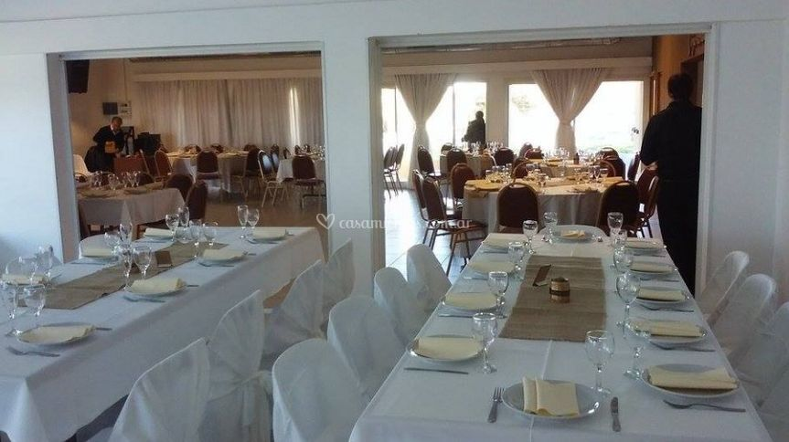 Elegante salon eventos